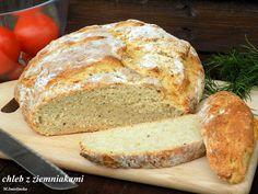Domowa Cukierenka: żywiecki chleb z ziemniakami Food And Drink, Bread, Buns, Brot, Baking, Breads, Po' Boy, Mixing Bowls