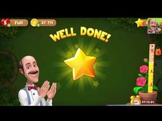 Welcome to Micro Gameplay.Gardenscapes New Acres - Level 1606 to 1610 Completed - story walkthrough gameplay Best Fiends, New Puzzle, Cheating, Wellness, Youtube, Movie Posters, Gaming, Channel, Watch