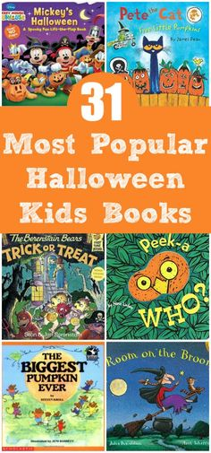 Great idea for October, read books with the kids all month long.
