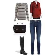via aintnomomjeans.com srtipes for busty and broad shoulders. Use stripes as the bottom layer.
