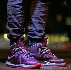 """Nike LeBron X """"Crown Jewel"""""""