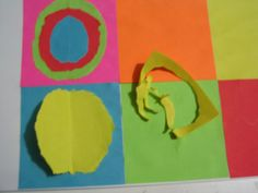 kandisky 007 Kandinsky, Art For Kids, Crafts For Kids, Art Plastique, Art Projects, My Favorite Things, Montessori, September, Coding