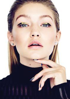 gigi byte: gigi hadid by max abadian for elle canada november 2015 | visual optimism; fashion editorials, shows, campaigns & more!