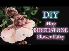 Crafts For Kids, Diy Crafts, Doll Tutorial, Flower Fairies, June Birth Stone, Fairy Dolls, Alexandrite, Birthstones, The Creator