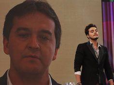 Amarildo Santana mandou mensagem para o filho no Dia dos Pais (Foto: Arthur Seixas/TV Globo)