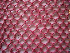 Crochet irlandes - Redes - 3 ° Práctica