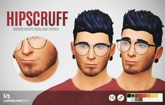 Hipscruff (Hipster Scruff) at LumiaLover Sims • Sims 4 Updates