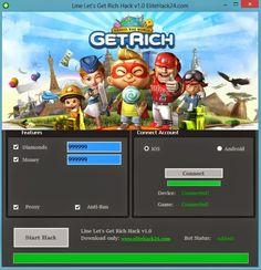 Hack and Keygen: Line Lets Get Rich Hack