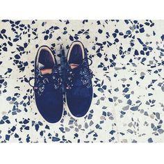 #DolfieAW14 Landom hi Black leather/Glitter by @jesuispalomaetpoint