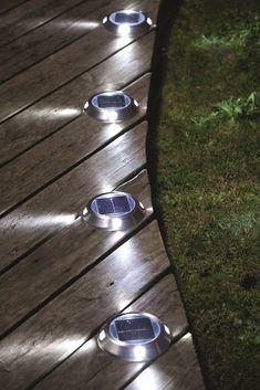 Back Garden Design, Patio Design, Landscape Lighting, Outdoor Lighting, Outdoor Decor, Back Gardens, Outdoor Gardens, Garden Lamps, Outdoor Landscaping