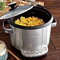 Breville Rissotto Plus Rice and Rissotto Cooker-This thing does everything!