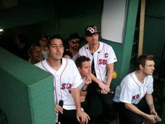 NKOTBSB at Fenway. Does. Not. Get. Better.