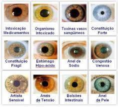 Resultado de imagen de Psico-iridología
