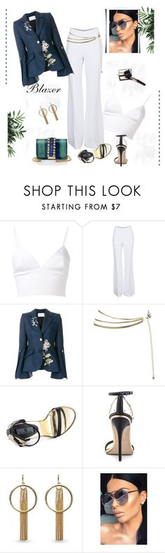 """""""*How To Style: Unique / Irregular Blazers Contest*- Set#3"""" by sassy-elisa ❤ liked on Polyvore featuring Clover Canyon, Michael Kors, Peter Pilotto, Mia Limited Edition, Vince Camuto, Quay, GEDEBE and blazer"""