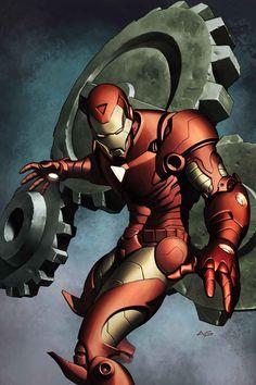 Iron Man by Adi Granov
