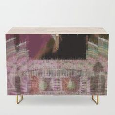 Design your everyday with credenzas you'll love to show off in your home. Match your decor taste with designs from independent artists worldwide. Modern Artists, Postmodernism, Psychedelic Art, Home Decor Accessories, Credenza, Sideboard, Cupboard, Post Modern History, Postmodern Literature