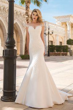 Νυφικό γοργονέ με μπούστο δαντέλας και εντυπωσιακή πλάτη! Mermaid Wedding, Wedding Dresses, Google Search, Bride Dresses, Bridal Gowns, Weeding Dresses, Wedding Dressses, Bridal Dresses, Wedding Dress