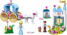 : Juniors Disney Princess Cinderella's Carriage by LEGO by LEGO. Juniors Disney Princess cinderella' S Carriage by LEGO. Lego Disney Princess, Lego Princesse Disney, Lego Juniors, Lego Friends, Cinderella Kutsche, Cinderella And Prince Charming, Cinderella Carriage, Cinderella Party, Buy Toys