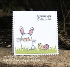 Mapleberry Musings: Papertrey Ink February Blog Hop Challenge: Easter Wishes
