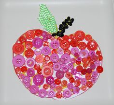 Apples Sensory Craft for Kids to Create