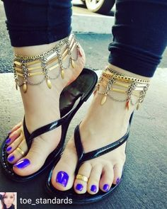 I love women's feet! I love women's feet! Nice Toes, Pretty Toes, Feet Soles, Women's Feet, Pies Sexy, Jamel Shabazz, Purple Toes, Foot Pics, Sexy Legs And Heels