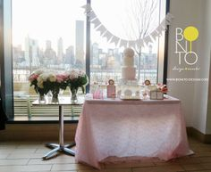 Vintage Pearl & Lace Bridal Shower Styled by BONITO