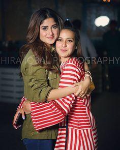 Sajal and Iqra Pakistani Fashion Casual, Pakistani Models, Pakistani Actress, Pakistani Party Wear Dresses, Pakistani Outfits, Stylish Girls Photos, Stylish Girl Pic, Aiza Khan Wedding, Cute Celebrities