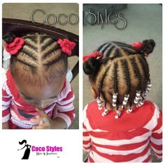 braided hairstyles age 40 - Little girl hairstyles - Toddler Braid Styles, Toddler Braids, Braids For Kids, Girls Braids, Black Baby Girl Hairstyles, Little Girls Natural Hairstyles, Toddler Braided Hairstyles, Princess Hairstyles, Little Girl Braids