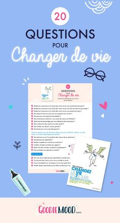 20 personal development questions to change lives – Goodie Mood development change life 20 Questions, This Or That Questions, Positive Attitude, Positive Vibes, Self Development, Personal Development, Bujo, Miracle Morning, Burn Out