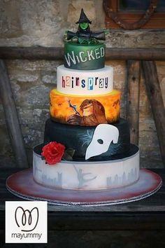 Musical inspired cake - Cake by Mayummy