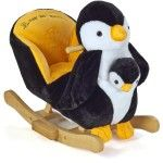 Knorr Baby Peter Swinging Animal 2 in 1 incl. Penguin Hand Puppet - Collection 2015