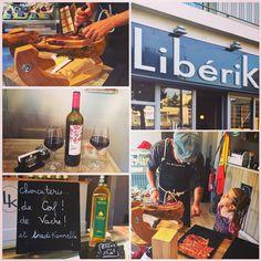 Ce soir s'est déroulée l'inauguration de LiberiK, épicerie proposant des produits espagnols ! Charcuterie, vins, huile d'olive et bien d'autres petites merveilles pour les papilles ! Je vous en parlerai bientôt sur le blog ! Mais en attendant foncez-y ! Olé !