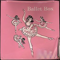 Ballet Box Storage & Carrying Case (circa 1950s/1960s) - I can attest that these were produced well into the 70s if not 80s.  I had this exact one.