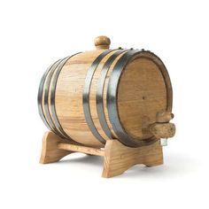 Black Hoop Aging Barrel