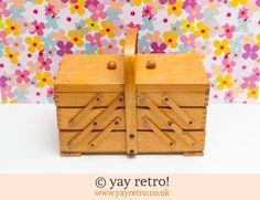 Vintage Cantilever Sewing Box - Retro, Vintage China, Glassware, Kitchenalia…