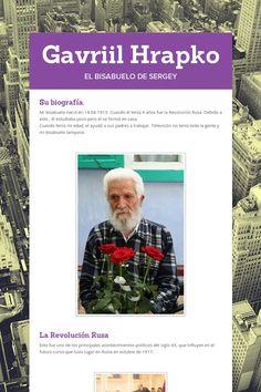 Gavriil Hrapko, el abuelo de Sergey