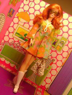 """Flower Power"" Barbie"