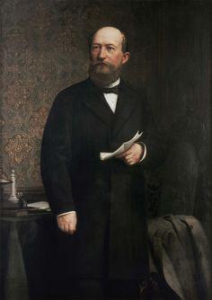Bayer founder Friedrich Bayer (1825-1880)