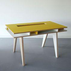 Kinder-Schreibtisch Insekt Gelb, 859€, jetzt auf Fab.