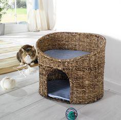 Katzenhöhle mit Kissen