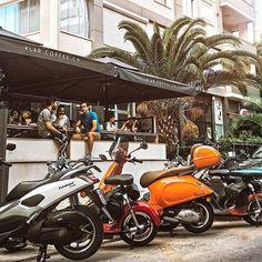 Anadolu Yakası'nın en yenilerinden olan bu cafeye bayılacaksınız! Istanbul, Motorcycle, Vehicles, Biking, Motorcycles, Vehicle, Engine, Choppers, Motorbikes