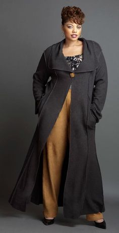 Feeling Good About You: Chinoo Designs Long floor length coat plus size #UNIQUE_WOMENS_FASHION
