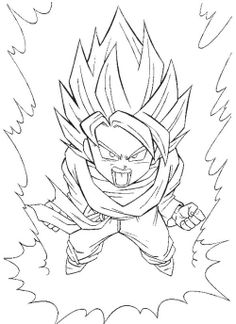 Dragon Ball Z Coloring Pages Printable - Visit now for 3D Dragon Ball Z shirts now on sale!