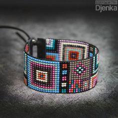 Bransoletka etniczna - beading - Ceara - Djenka