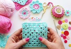 How To Crochet A Straight Granny Square