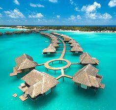 Four Seasons, Bora Bora... Where I will be celebrating my Birthday this year <3