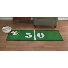 50-Yard Line Mat — The Best Seat in the House