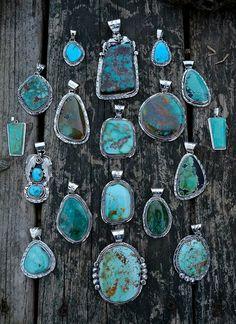 Turquoise pendants!!!