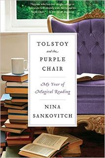 Tolstoy and the Purple Chair by Nina Sankovitch - This graceful memoir describes a true love affair with books. After losing her sister to cancer, Sankovitch embarks on a year of reading: one book every day for a full year Great Books, New Books, Books To Read, Date, Purple Chair, Chair And A Half, Thing 1, Magical Thinking, Happiness Project