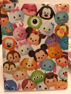 Disney Tsum Tsum merchandise.